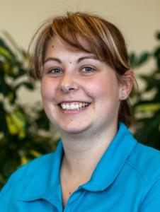 Physiotherapeutin Aline Pechmann